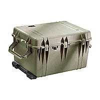 Pelican 1660 Polypropylene Case with Foam - Olive Drab Green
