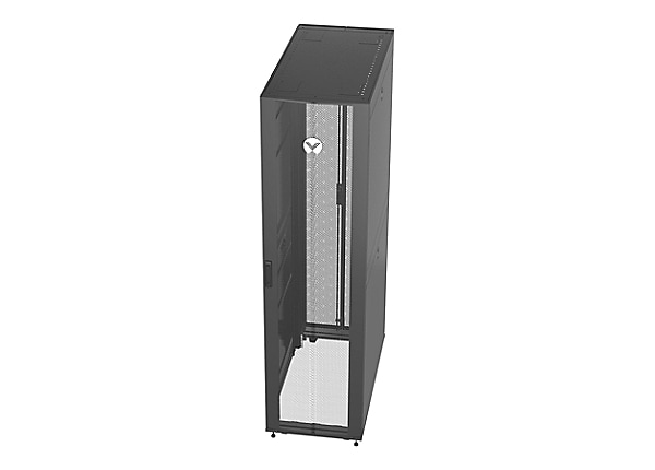 Vertiv VR 48U Deep Rack Enclosure Server Cabinet with Shock Packaging