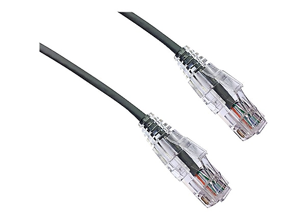 Axiom BENDnFLEX patch cable - 27.4 m - gray