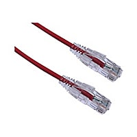 Axiom BENDnFLEX Ultra-Thin - patch cable - 7.62 m - red - TAA Compliant