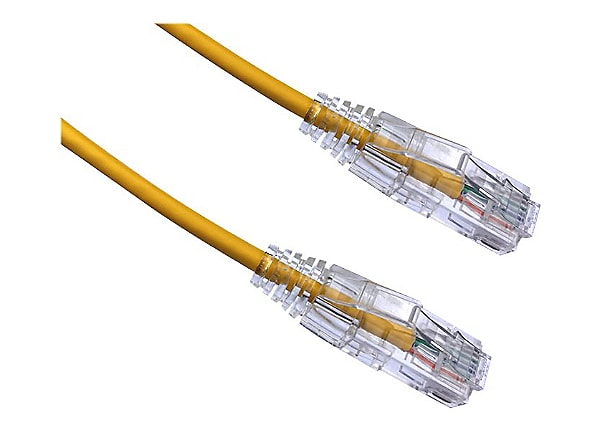 Axiom BENDnFLEX patch cable - 30.5 m - yellow - TAA Compliant