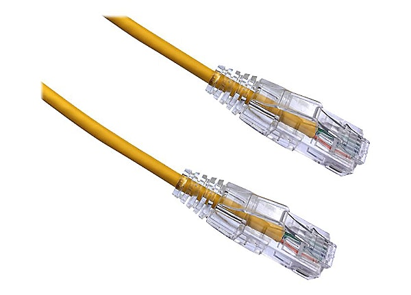 Axiom BENDnFLEX Ultra-Thin - patch cable - 4.57 m - yellow - TAA Compliant