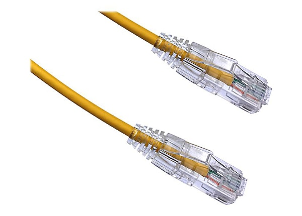 Axiom BENDnFLEX Ultra-Thin - patch cable - TAA Compliant - 2.44 m - yellow