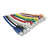 Axiom Cat6 550 MHz Snagless Patch Cable - patch cable - 30.5 m - purple
