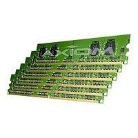 Axiom AX - DDR3 - kit - 12 GB: 6 x 2 GB - DIMM 240-pin - unbuffered