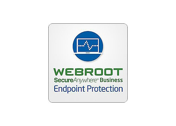 Webroot SecureAnywhere Business - Endpoint Protection - subscription licens
