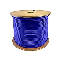AddOn 1000ft Non-Terminated Cat6A Blue Patch Cable - bulk cable - 304.8 m -
