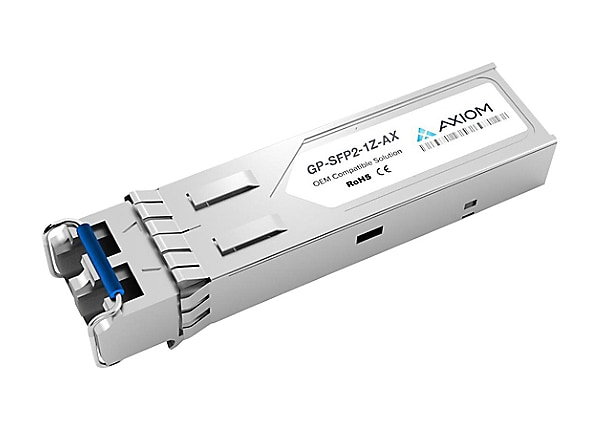 Axiom Force 10 GP-SFP2-1Z Compatible - SFP (mini-GBIC) transceiver module -
