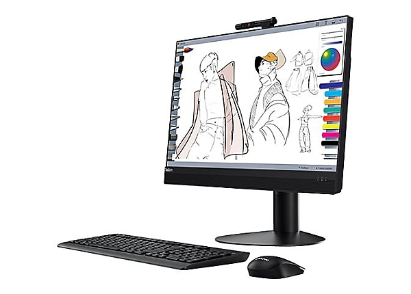 Lenovo ThinkCentre M920z - all-in-one - Core i7 8700 3.2 GHz - 8 GB - 256 G