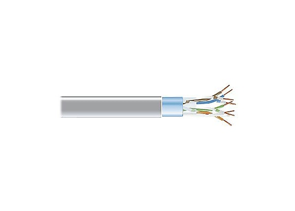 Black Box CAT5e bulk cable - 304.8 m - gray