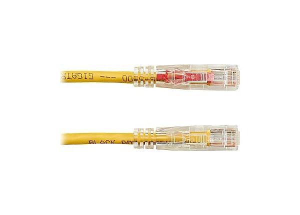 Black Box GigaTrue 3 patch cable - 1.83 m - yellow