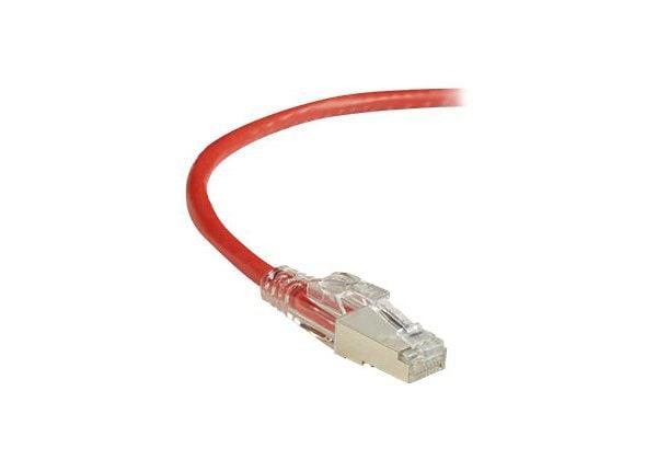 Black Box GigaTrue 3 patch cable - 30 cm - red