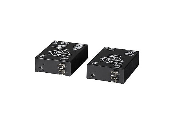 Black Box ServSwitch DVI Fiber Optic KVM Extender, Dual, Single-Mode - KVM