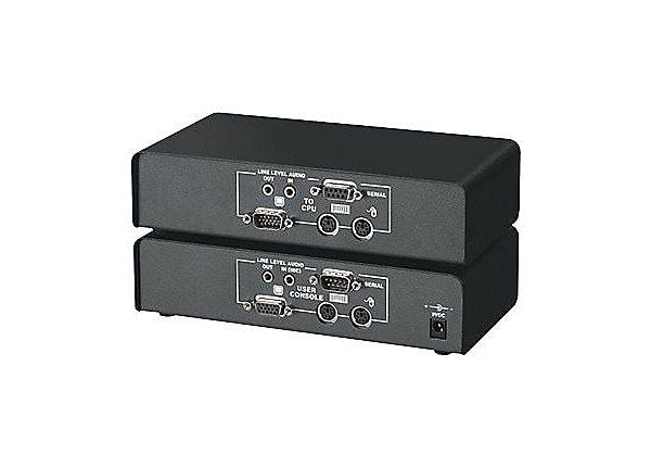 Black Box ServSwitch Brand CAT5 KVM Extender with Serial Extension and Ster
