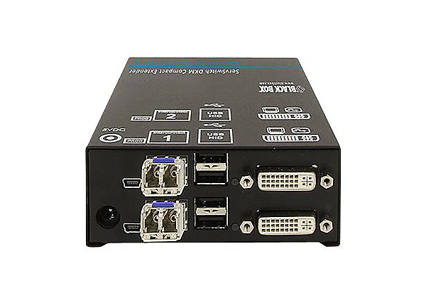 Black Box DKM FX Compact Receiver - video/USB extender
