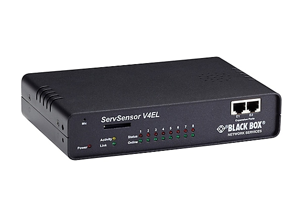 Black Box AlertWerks ServSensor V4E Lite Hub - environment monitoring devic