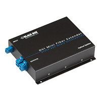 Black Box Mini Extender Fiber Spliiter - video/audio splitter - 4 ports