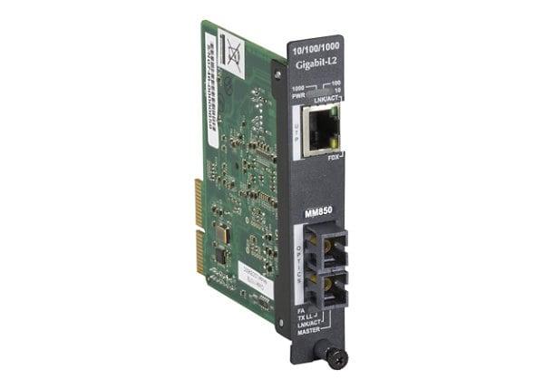 Black Box High-Density Media Converter System II, Layer 2 Module - fiber me