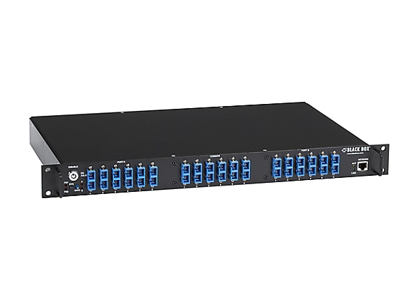 Black Box Pro Switching System NBS Fiber Multimode SC A/B, 6-Port - switch