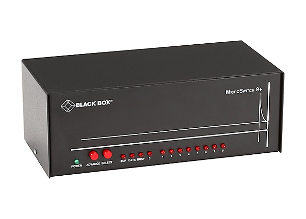 Black Box MicroSwitch 9SP - switch - 9 ports