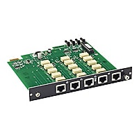 Black Box Pro Switching System Multi Switch Card, CAT5e, 3-to-1 - expansion