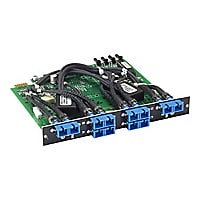 Black Box Pro Switching System Multi Switch Card Fiber Multimode, Dual 2-to