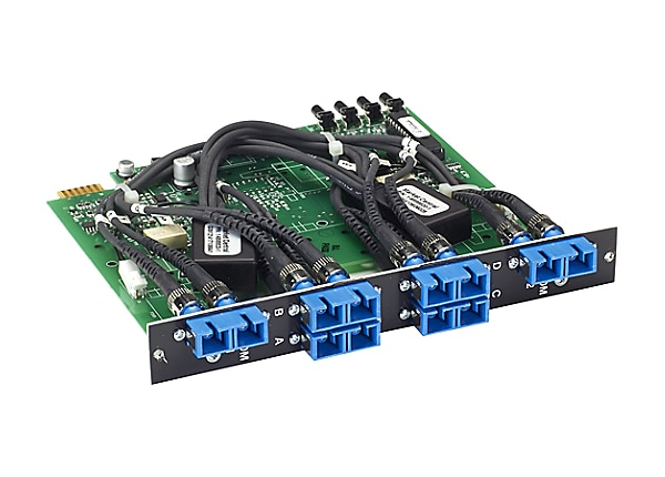 Black Box Pro Switching System Multi Switch Card Fiber Single-mode, 2-to-1,