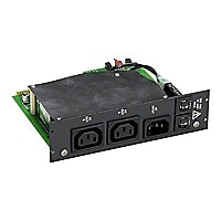 Black Box Pro Switching System Plus 240 VAC Power A/B Switch Card with Proc