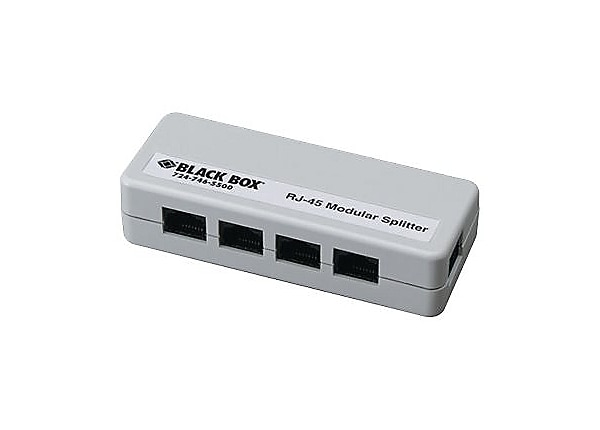 Black Box Modular network splitter