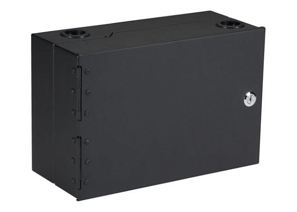 Black Box Wallmount Z-Hinged Fiber Enclosure - cabinet