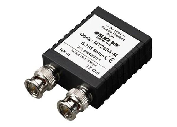 Black Box G.703 75-120 High-Speed Adapter - balun adapter