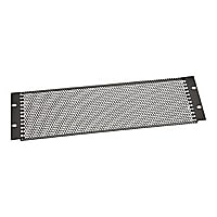 Black Box Vent Panel rack panel - 3U