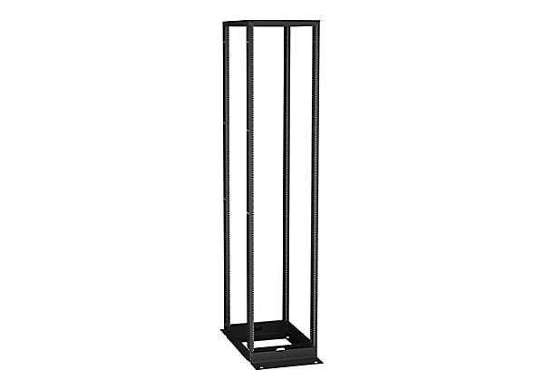 Black Box Premier Aluminum Distribution Rack 4-Post rack - 51U