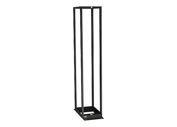 Black Box Premier Aluminum Distribution Rack 4-Post rack - 58U