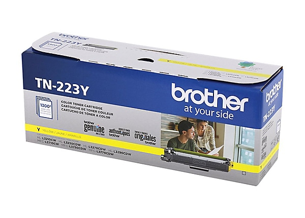 Brother TN223Y - yellow - original - toner cartridge