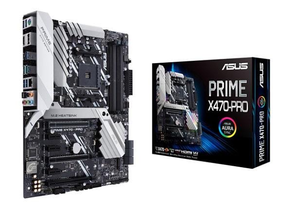 ASUS PRIME X470-PRO - motherboard - ATX - Socket AM4 - AMD X470