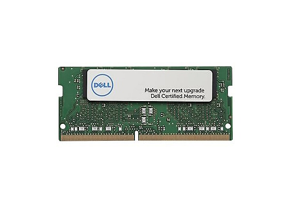 Dell - DDR4 - module - 8 GB - SO-DIMM 260-pin - 2666 MHz / PC4-21300 - unbu