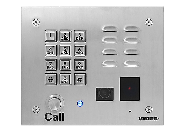 Viking Electronics Vandal Resistant Entry Phone System with Keypad