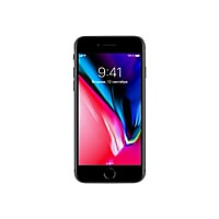 Apple iPhone 8 - space gray - 4G LTE, LTE Advanced - 64 GB - GSM - smartpho