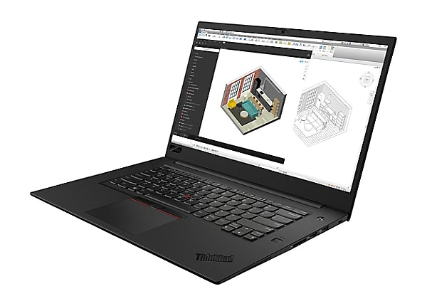 "Lenovo ThinkPad P1 - 15.6"" - Core i7 8850H - 32 GB RAM - 1 TB SSD - Canadia"