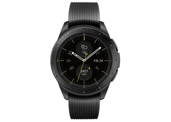 Samsung Galaxy Watch - midnight black - smart watch with band - 4 GB