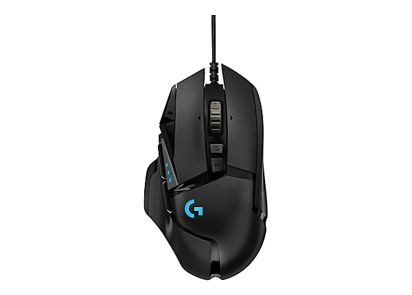 Logitech Gaming Mouse G502 (Hero) - mouse - USB