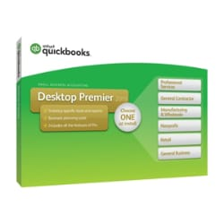 QuickBooks Desktop Premier 2019 - box pack - 1 user