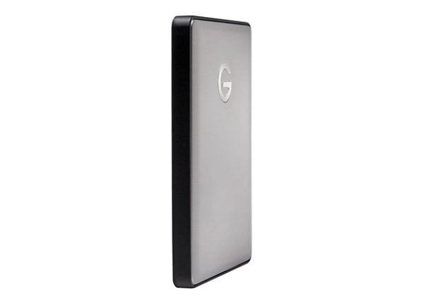 G-Technology G-DRIVE mobile USB-C GDMUCWWA20001AHBV2 - hard drive - 2 TB -