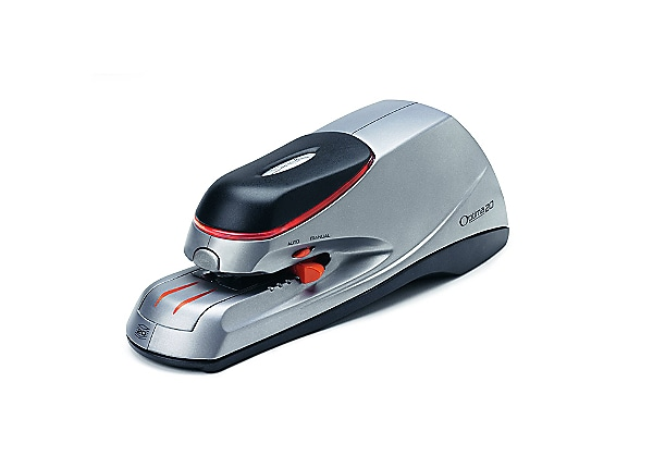 Swingline Optima Full Strip Electric Stapler - 20-Sheets - Silver/Black