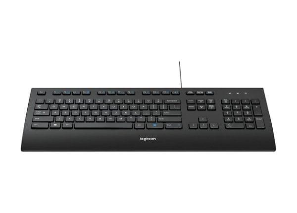 Logitech K280e Pro Comfortable Palm Rest Corded Keyboard