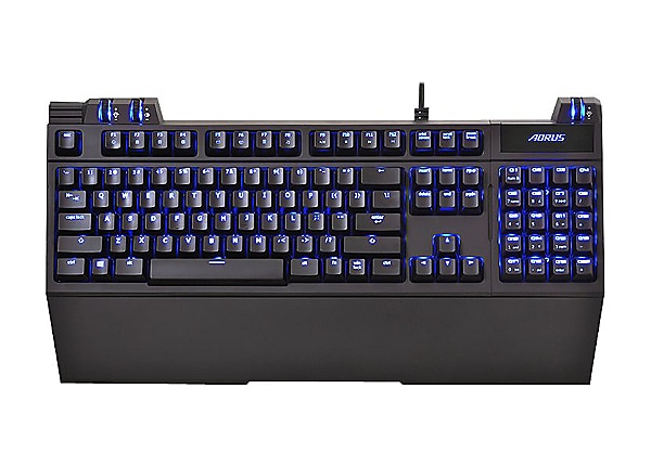 Aorus Thunder K7 - keyboard - black