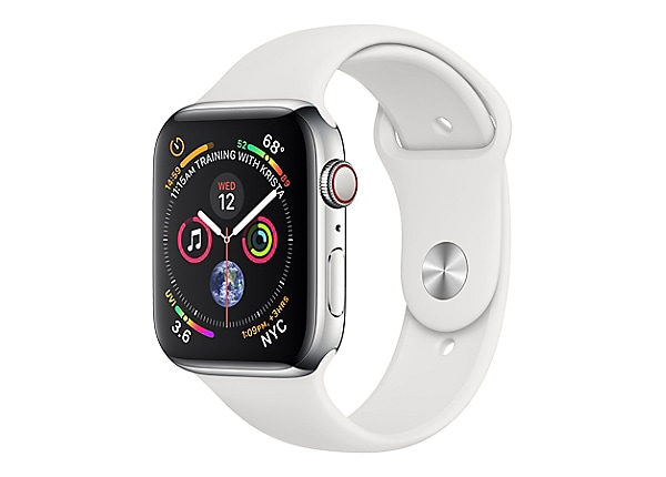 Apple Watch Series 4 (GPS + Cellular) - stainless steel - smart watch with