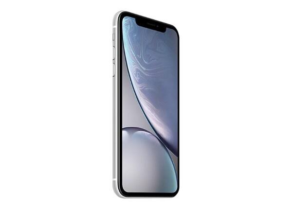 Apple iPhone XR - blanc - 4G - 128 Go - CDMA / GSM - smartphone