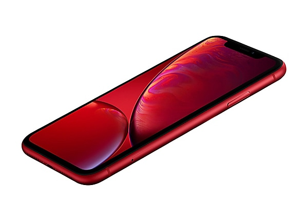 Apple iPhone XR - (PRODUCT) RED Special Edition - matte red - 4G - 128 GB -